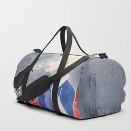 Tippi Hedren & a Crow Duffle Bag