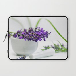 Lavender still life for pharmacies or curative practitioners Laptop Sleeve