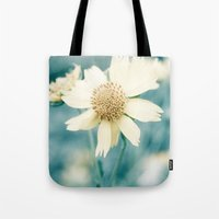 teal Tote Bags featuring Teal  by Bree Madden