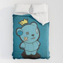 Blue Dead Bear Comforters