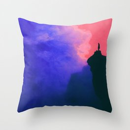 Un nouveau monde Throw Pillow
