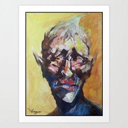 20minutes Portrait#1 Art Print