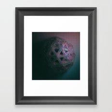 GHOST MATH (everyday 12/09.16) Framed Art Print