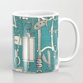 fiendish incisions blue Coffee Mug