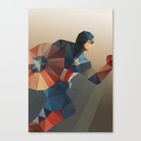 captain Canvas Prints featuring Captain by Ed Burczyk