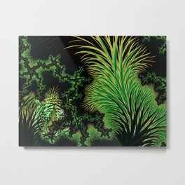 Hiding in the Jungle Metal Print