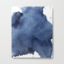 Brush Strokes Metal Print