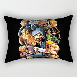 The Clan Warrior Rectangular Pillow
