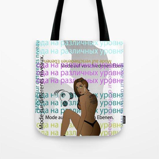 Bear in Hand Tote Bag