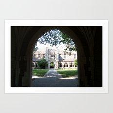 Princeton Arches Art Print