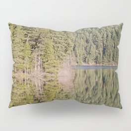 FOREST REFLECTIONS ON A MOUNTAIN LAKE Pillow Sham