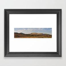 Pilanesberg Panoramic Framed Art Print