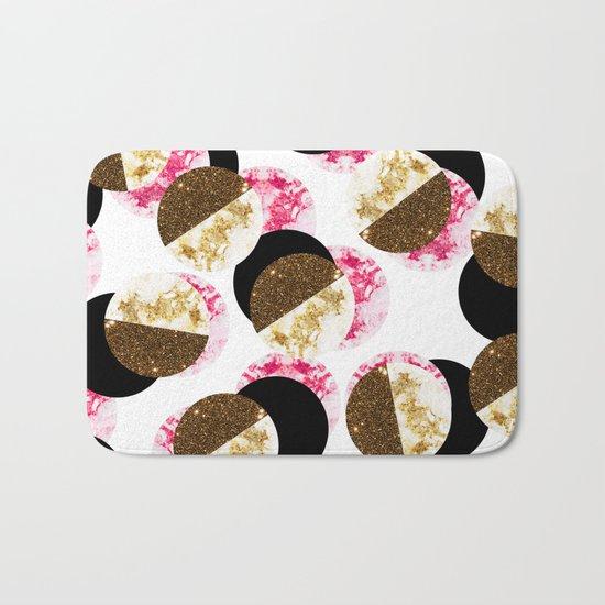 Strawberry Gal #society6 Bath Mat