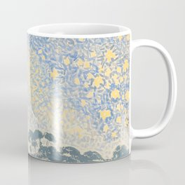Landscape with Stars by Henri-Edmond Cross 1905–1908, French Coffee Mug