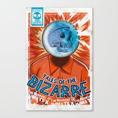 Tales of the Bizarre Canvas Print