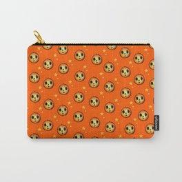 Creepy Cute Halloween Pumpkin Design Carry-All Pouch
