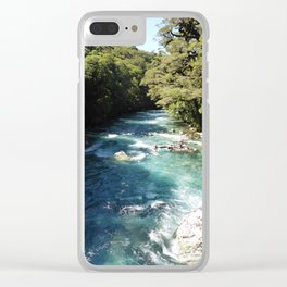 Lake Marian, New Zealand Clear iPhone Case