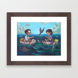 Story's End Framed Art Print