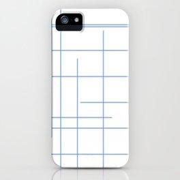 Ungrid Blue iPhone Case