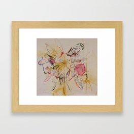 Hyperactive Framed Art Print
