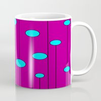 balloons Mugs featuring Balloons  by JuniqueStudio