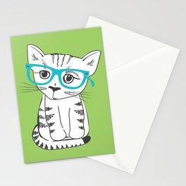 Nerdy Kitty Stationery Cards