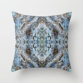 Southwestern Turquoise Pattern Throw Pillow