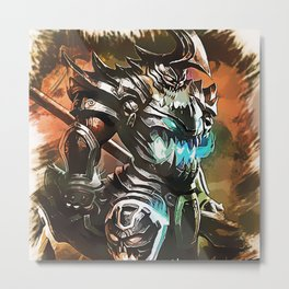 League of Legends HECARIM Metal Print