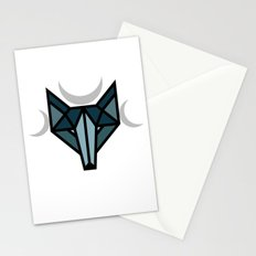 By the moon Stationery Cards