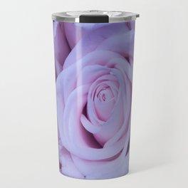 Indigo Roses Travel Mug
