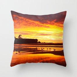 Coogee Sunrise Throw Pillow