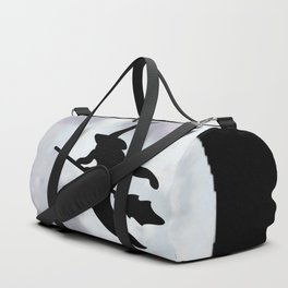 Witch, Witch Flying Across the Moon Duffle Bag