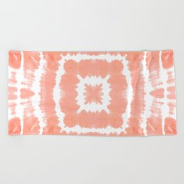 WILD AND FREE - BLOOMING DAHLIA Beach Towel