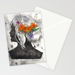 Perfil Series: Stencil 1 (Grey Wash and Color 1) Stationery Cards