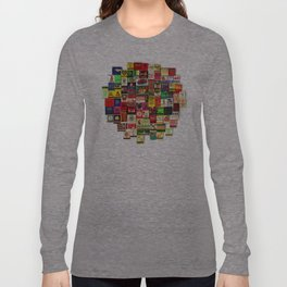 Antique Matchbooks Long Sleeve T-shirt