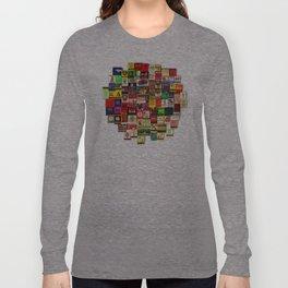 Antique Matchbooks Long Sleeve T-shirt