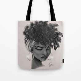 Hoops and Scarf Tote Bag