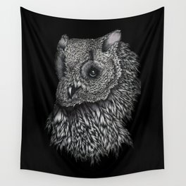 Forsythe in Black Wall Tapestry