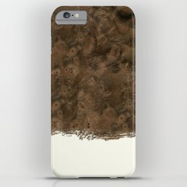 Dipped Wood - Walnut Burl iPhone Case
