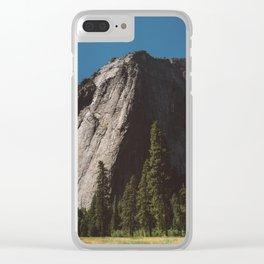 El Capitan IV Clear iPhone Case