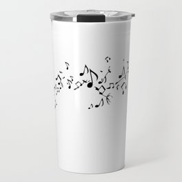 FLOWER NOTES Travel Mug