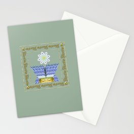 Crowned Buddha Stationery Cards