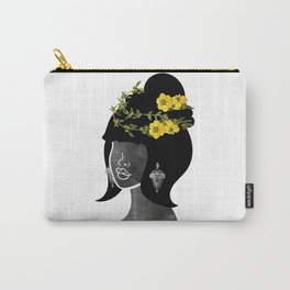 Wildflower Crown IV Carry-All Pouch