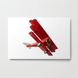 Red Fokker Metal Print