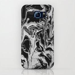 BLACK/WHITE RIPPLE 1 iPhone Case