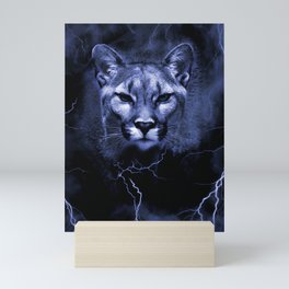 COUGAR Mini Art Print