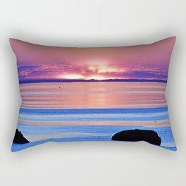 Colorful Dusk Rectangular Pillow