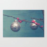 sparkle Canvas Prints featuring Sparkle by Olivia Joy StClaire
