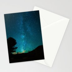 Milky Way Starry Night Photography Stationery Cards
