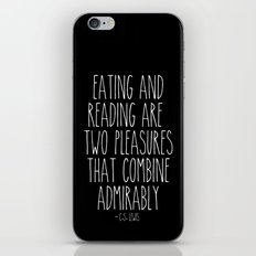 An Admirable Combo iPhone & iPod Skin